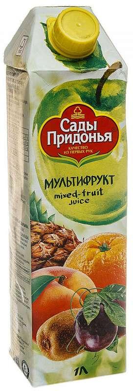 Сады придонья сок мультифруктовый 1л, фото №1