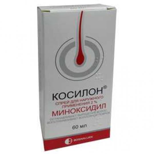 КОСИЛОН раствор для наружного применения 2 % 60 мл