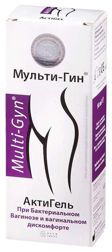 Актигель мульти-гин гель вагинальный 50мл, фото №1