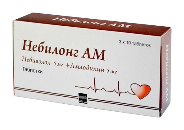 Небилонг АМ таблетки 30 шт.