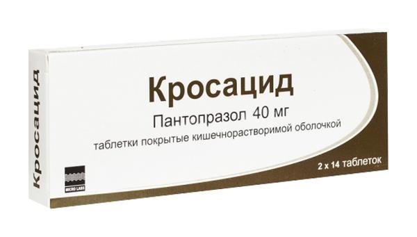 КРОСАЦИД таблетки 40 мг 28 шт.