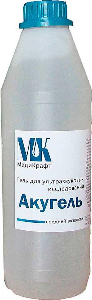 Акугель гель для узи средней вязкости 1кг, фото №1