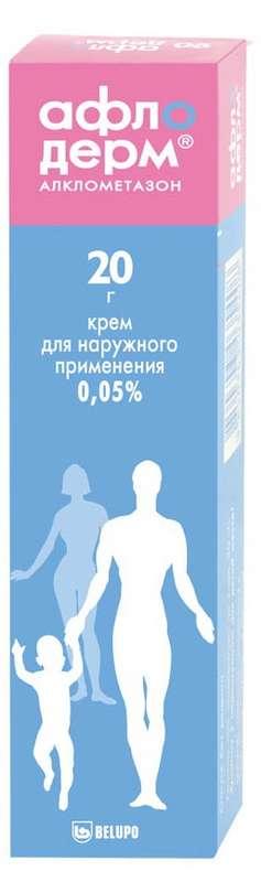 Афлодерм 0,05% 20г крем для наружного применения, фото №1