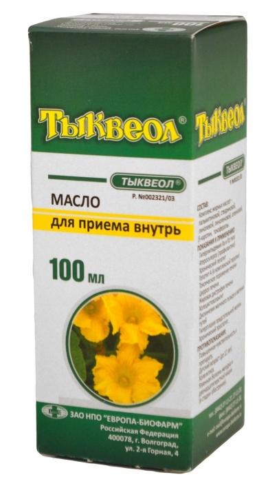 Тыквеол 100мл масло для приема внутрь, фото №1