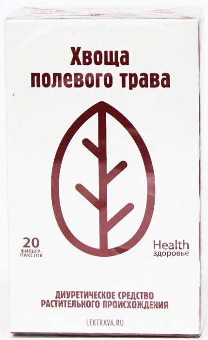 Хвощ полевой трава 20 шт. фильтр-пакет здоровье, фото №1