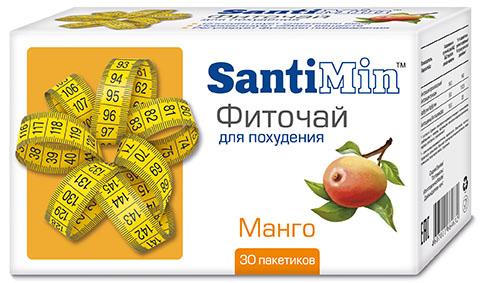 Сантимин чай манго 30 шт. фильтр-пакет, фото №1