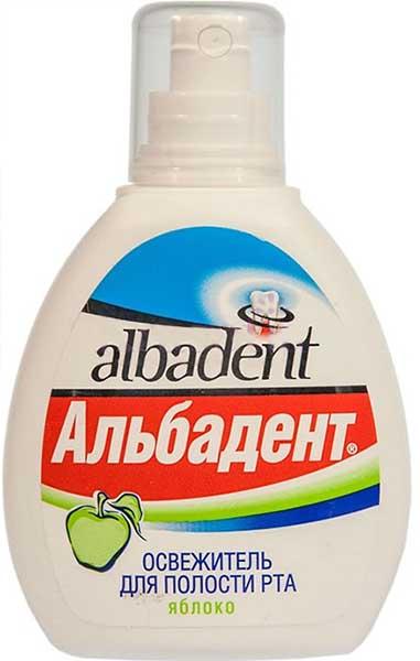 Альбадент освежитель для полости рта яблоко 35мл, фото №1