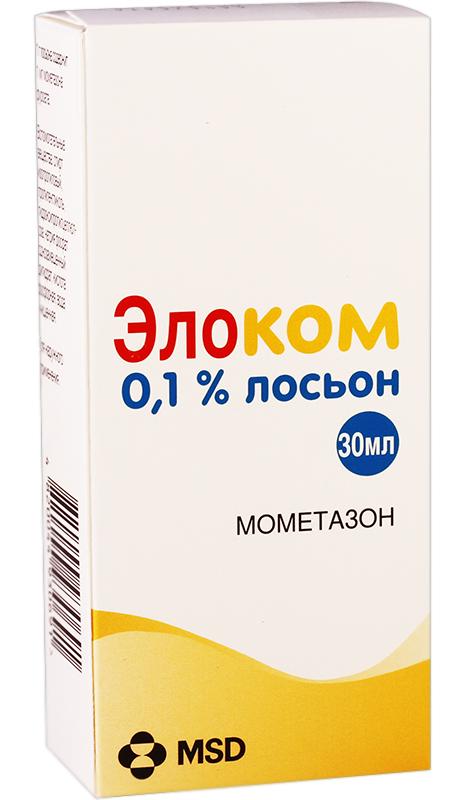 ЭЛОКОМ ЛОСЬОН 0,1% 30мл раствор для наружного применения