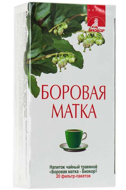 Боровая матка напиток чайный 20 шт. фильтр-пакет, фото №1