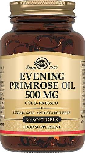 Солгар примулы вечерней масло капсулы 60 шт., фото №1