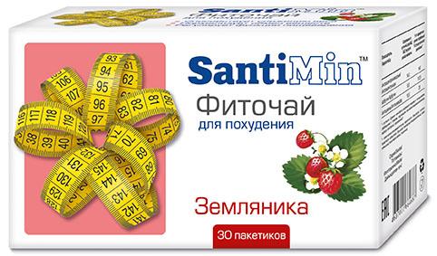 Сантимин чай земляника 30 шт. фильтр-пакет, фото №1