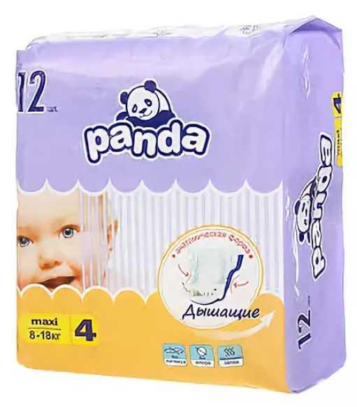 Белла панда подгузники макси 8-18кг 12 шт., фото №1