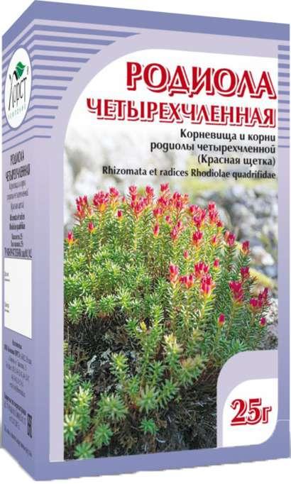 Родиола четырехчленная (красная щетка) чайный напиток 25г, фото №1