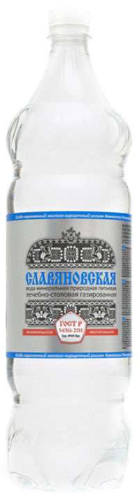 Славяновская вода минеральная 1,5л, фото №1