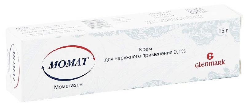 МОМАТ 0,1% 15г крем для наружного применения