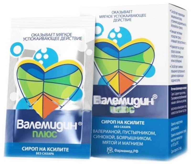 ВАЛЕМИДИН ПЛЮС сироп без сахара 3мл 10 шт.