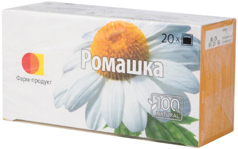ФИТОЧАЙ РОМАШКА серии Алтай 1,5г 20 шт. фильтр-пакет