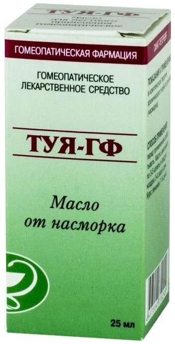 Туя-гф 25мл масло для наружного применения, фото №1