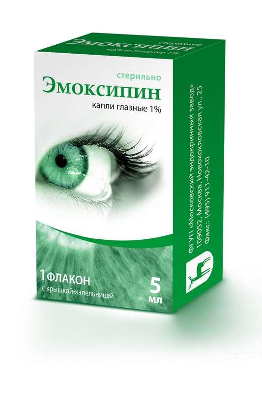 Эмоксипин 1% 5мл капли глазные, фото №1
