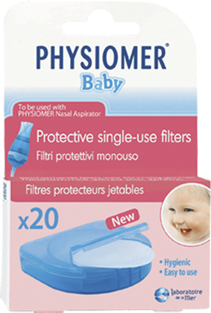 Физиомер фильтр для аспиратора для детей 20 шт., фото №1