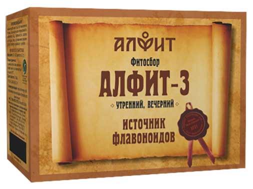 Алфит 3 печеночный фитосбор утренний/вечерний 2г 60 шт., фото №1