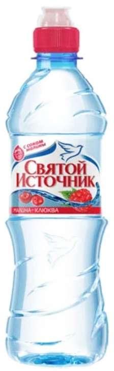 Святой источник вода питьевая малина/клюква 0,5л, фото №1