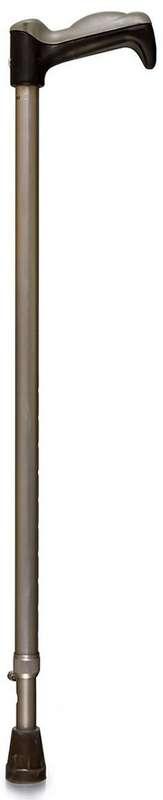 Амрус трость телескопическая металическая с упс амсс33 металлик, фото №1