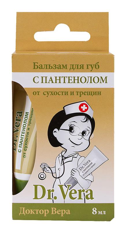 Доктор вера бальзам для губ пантенол 8мл, фото №1