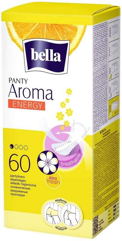 Белла панти арома прокладки ежедневные энерджи 60 шт., фото №1