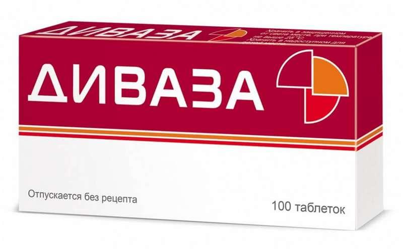 ДИВАЗА таблетки для рассасывания 100 шт.
