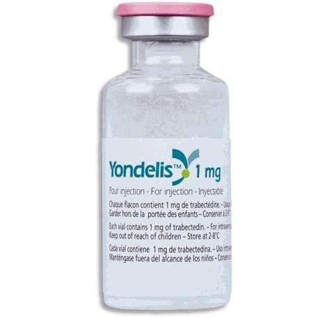 ЙОНДЕЛИС 1мг 1 шт. лиофилизат для приготовления раствора для инфузий флакон