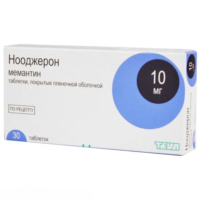НООДЖЕРОН таблетки 10 мг 30 шт.
