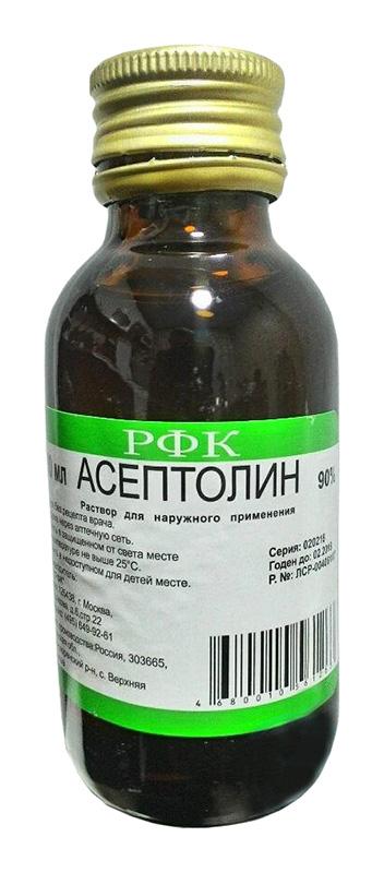 Асептолин 90% 100мл раствор для наружного применения, фото №1