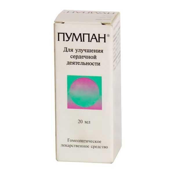 ПУМПАН 20мл капли