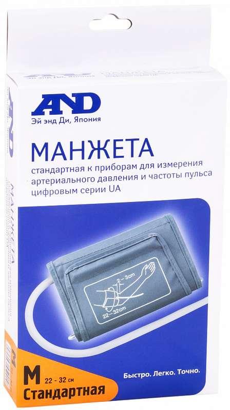 Анд манжета для тонометра автоматического стандаpтная ua-cufbox-au, фото №1