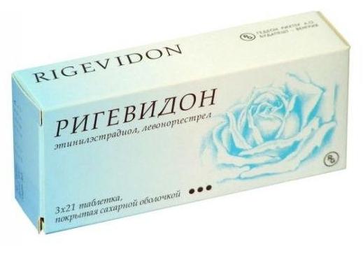 Ригевидон n21+7х3 набор таблеток, фото №1
