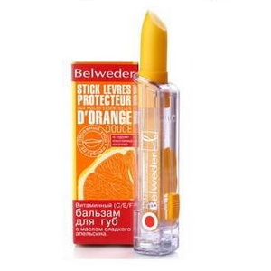 Бельведер бальзам д/губ апельсин 4г