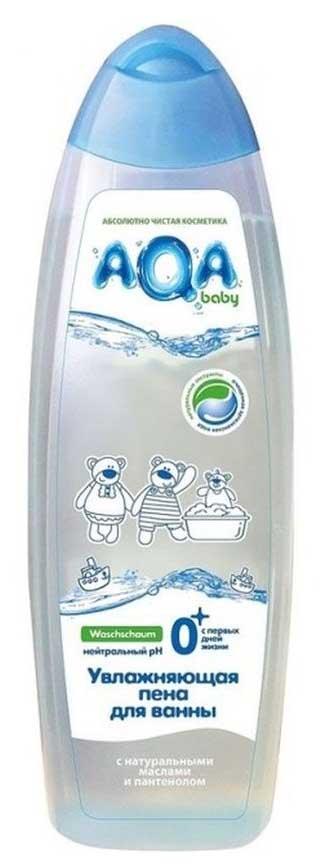 Аква бэби пена для ванн увлажняющая с маслами для сухой/чувствительной кожи 500мл, фото №1