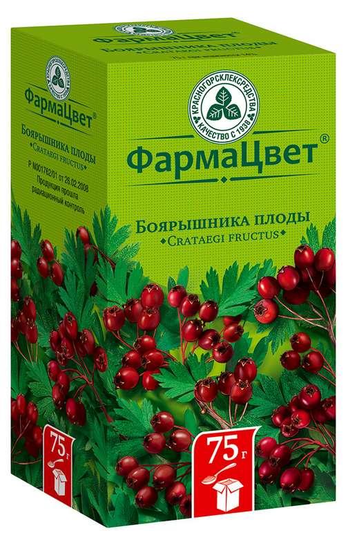 Боярышник плоды 75г, фото №1