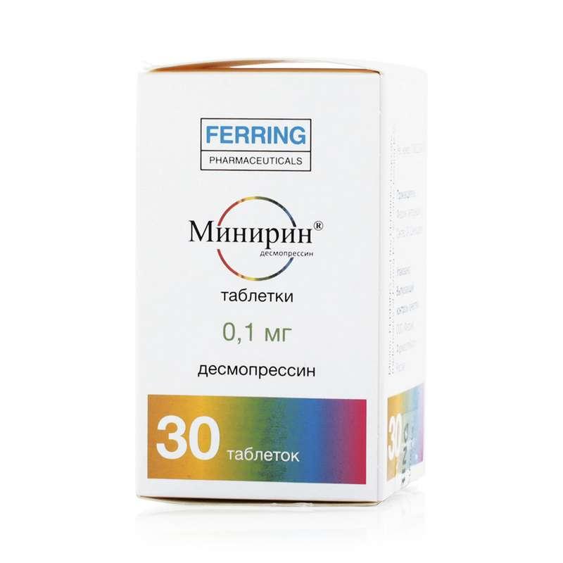 МИНИРИН таблетки 0.1 мг 30 шт.