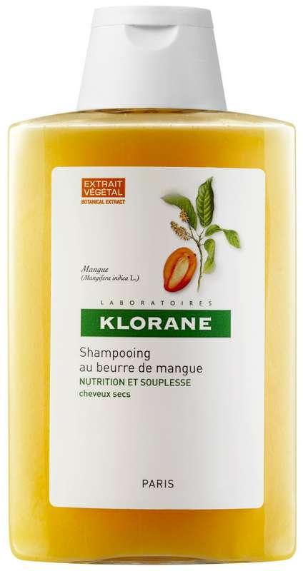 Клоран шампунь для сухих и поврежденных волос с маслом манго 400мл, фото №1