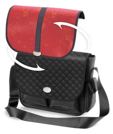 Авент сумка городской стиль со сменным клапаном 67410 (scd148/60) черная, фото №1