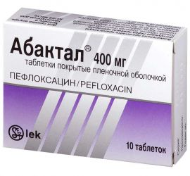 Абактал 400мг 10 шт. таблетки, фото №1