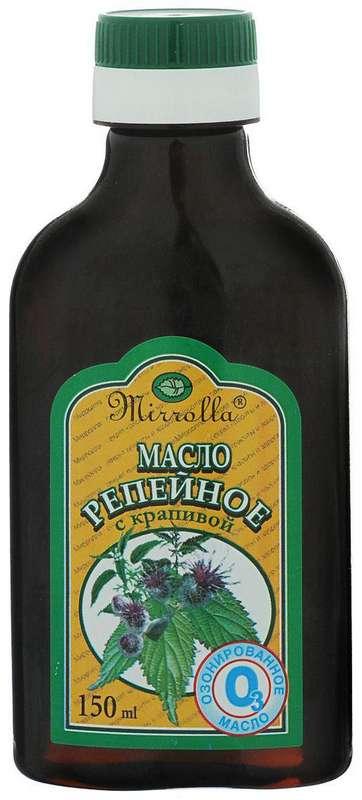 Мирролла масло репейное озонированное крапива 150мл, фото №1