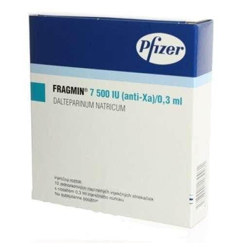 ФРАГМИН 7500МЕ/АНТИ-ХА/0,3мл 10 шт. раствор для инъекций Vetter Pharma-Fertigung