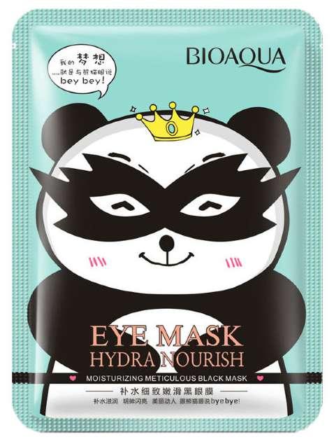 Биоаква гидра нуриш маска для области вокруг глаз тканевая снимающая усталость 1 шт. guangzhou global cosmetics co.ltd, фото №1
