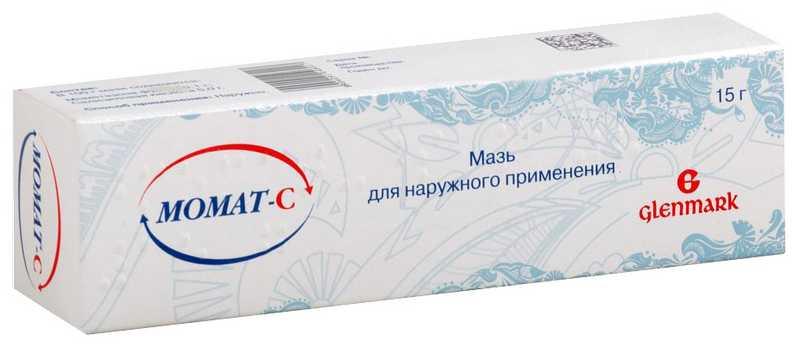 МОМАТ-С 0,1% 15г мазь для наружного применения
