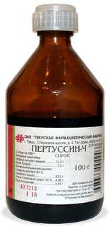 ПЕРТУССИН-Ч 100г сироп Тверская фармацевтичекская фабрика ОАО