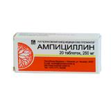 Ампициллина тригидрат 250мг n20 таб.