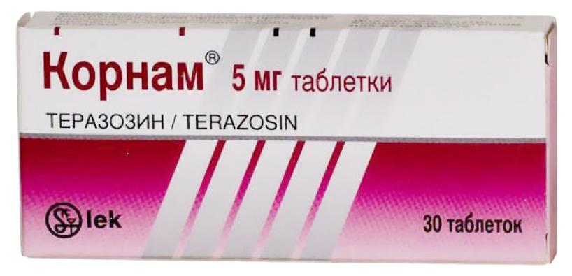 КОРНАМ таблетки 5 мг 30 шт.